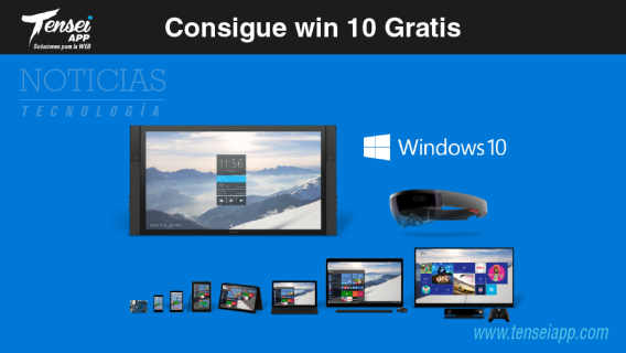 consigue windows 10 gratis