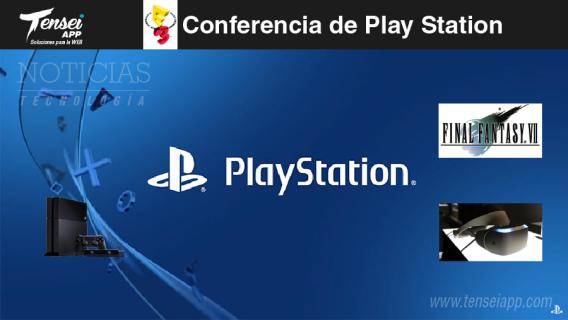 play station conferencia e3-01